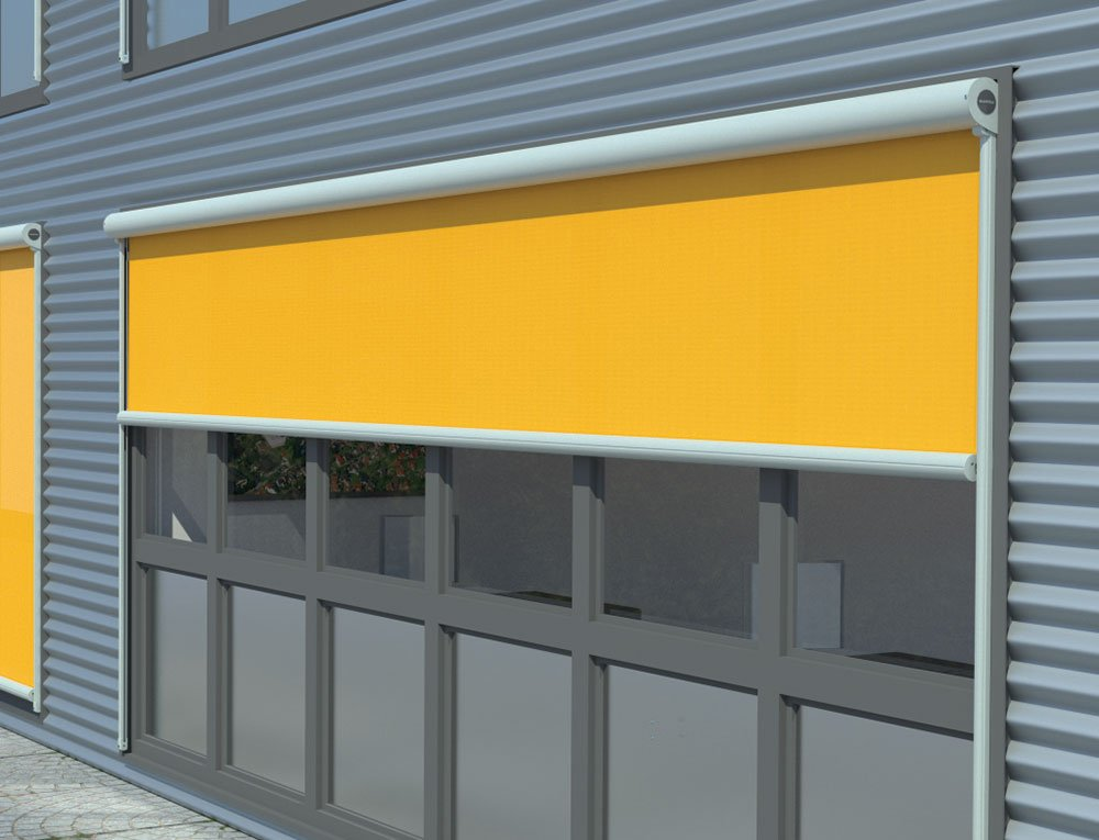 Yellow Markilux External Blinds