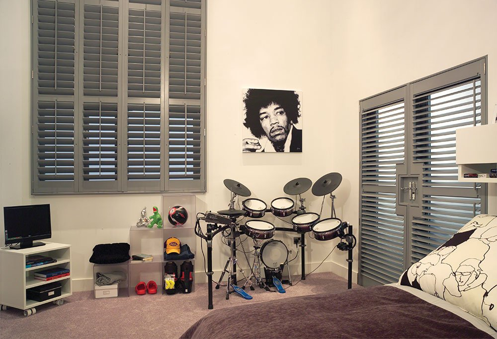 Gray Shutters Room Interior
