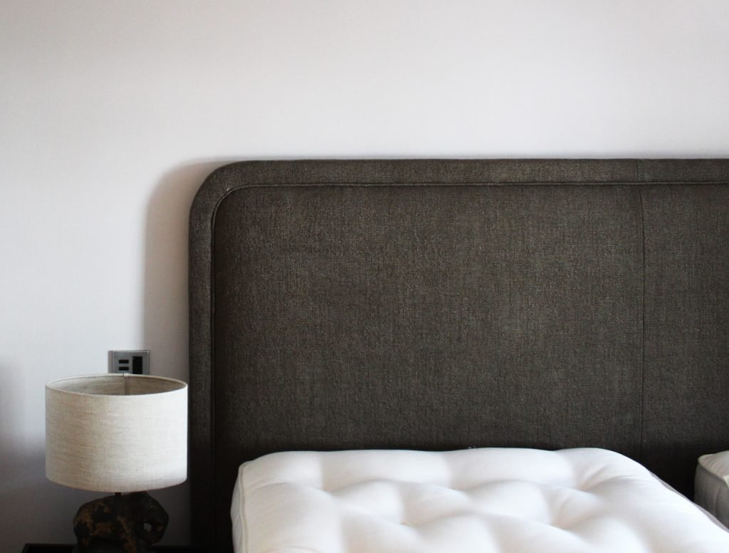 Bespoke upholstered headboard