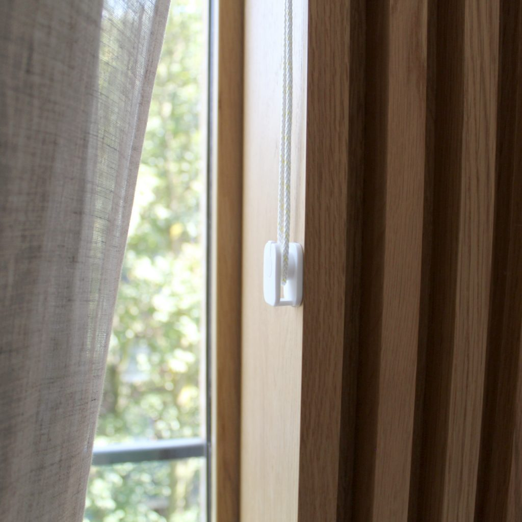 Living Room 4 - Wave Curtains with manual cord operation