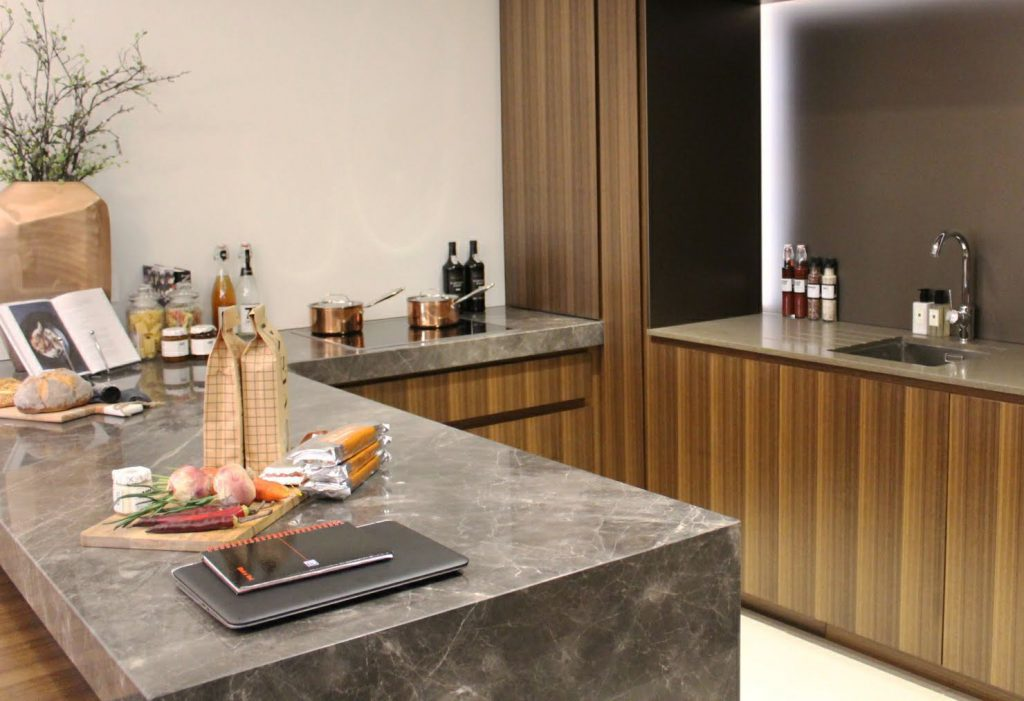 Kitchen - Lincoln Square demo apartment
