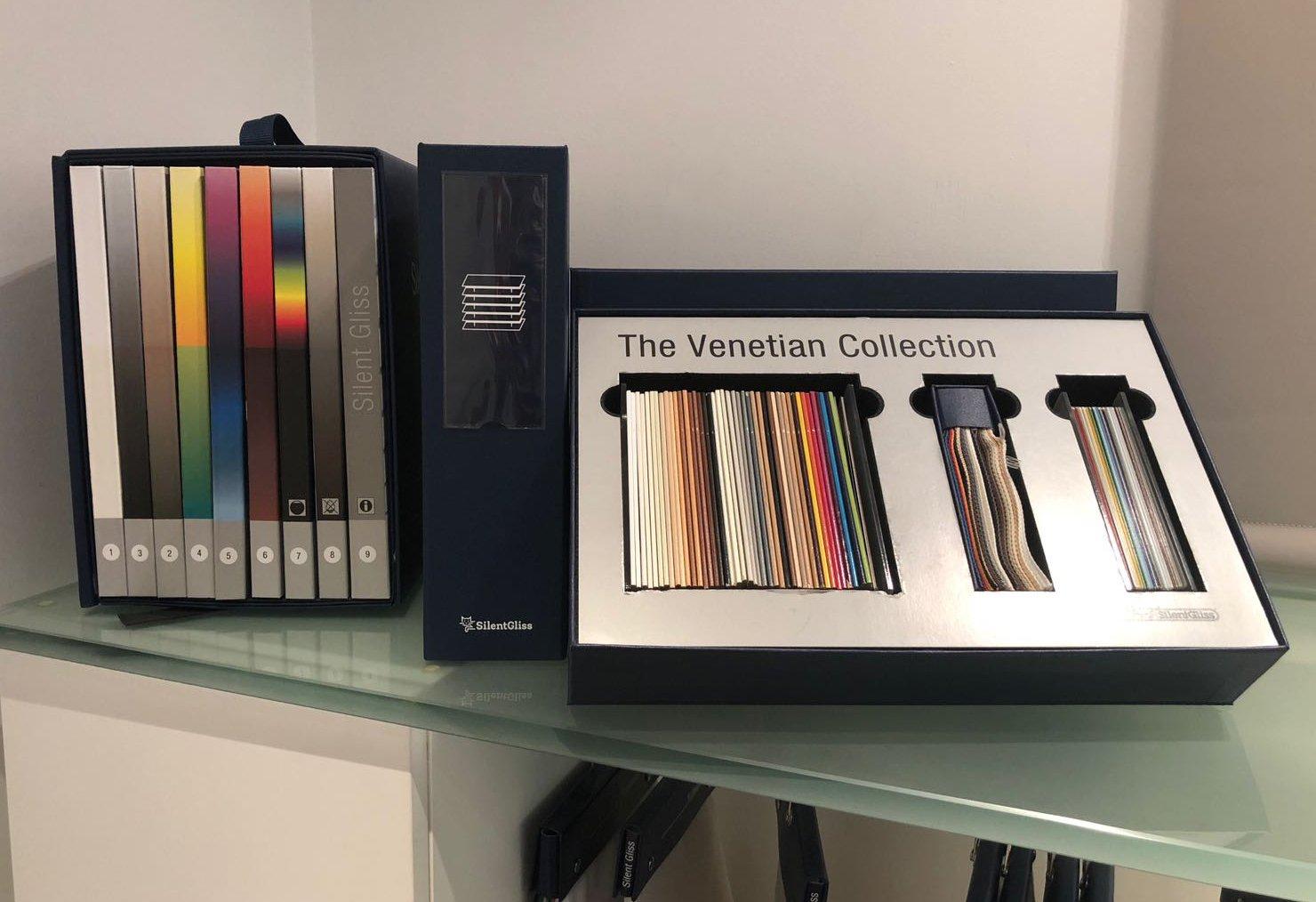 Silent Gliss Business Centre London - Venetian Collection