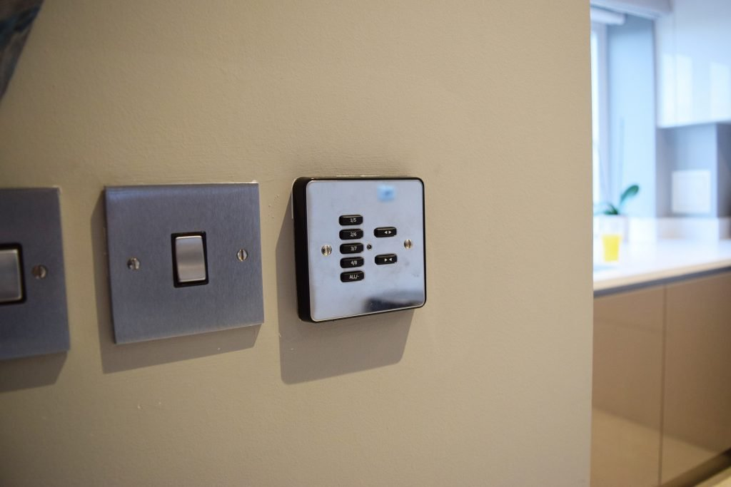 Dining room - Wall switch