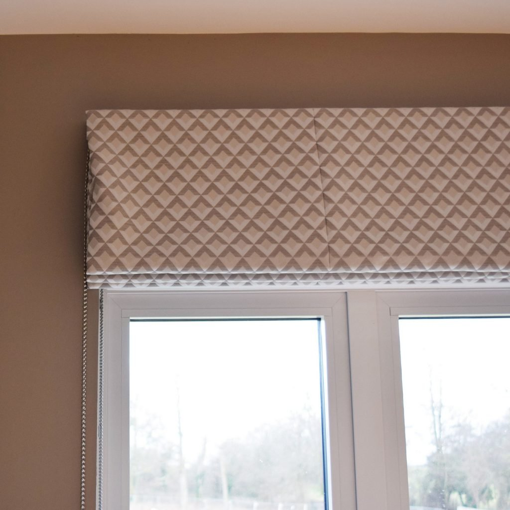 Kitchen - Roman blind close-up