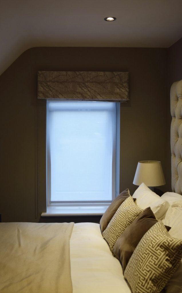 Second room - Roller Blinds closed