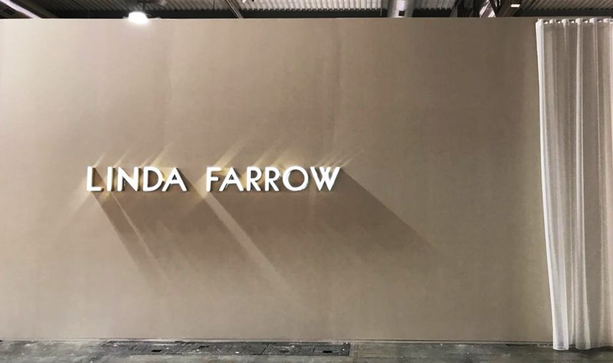 Linda Farrow Silmo Paris Exhibition 2019