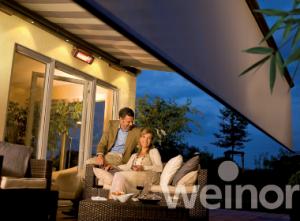 Opal design II Weinor patio awning
