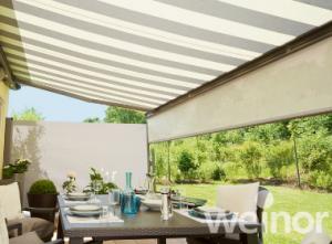 Semina retractable Weinor patio awnings