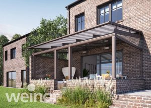 WGM Top awning for conservatory